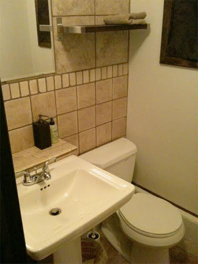 studio bathroom renovation after rock and nest
