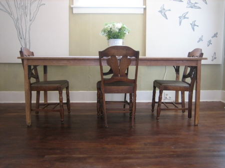 refinished fir floors