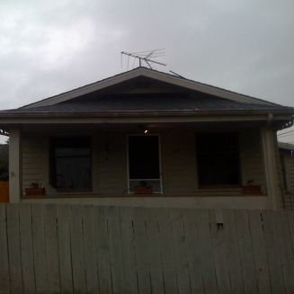 Front porch: Before
