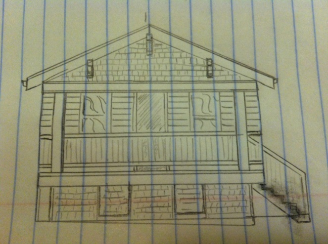 porch idea sketch