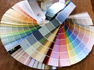 paint swatch books