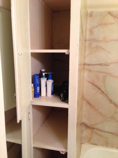 before deep bathroom storage cabinet rockandnest
