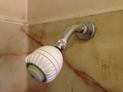 before old showerhead rockandnest