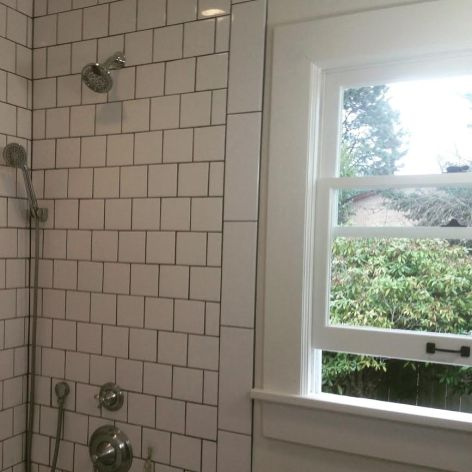 vintage restored wood window rock and nest.jpg
