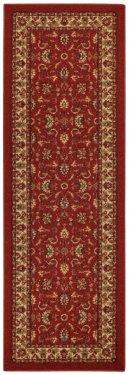 Red Traditional runner kitchen rug.jpg